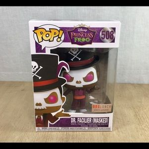Funko pop Dr facilier masked boxlunch
